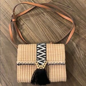 Cute little beach clutch or cross body purse